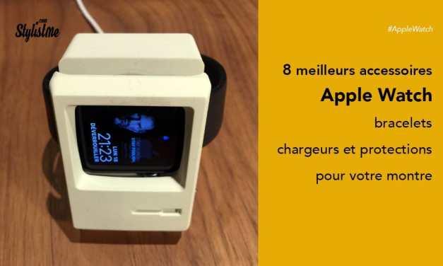 Meilleurs accessoires Apple Watch design et à petit prix