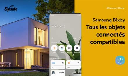 Objets compatibles Bixby et appareils utilisant l'assistant vocal Samsung