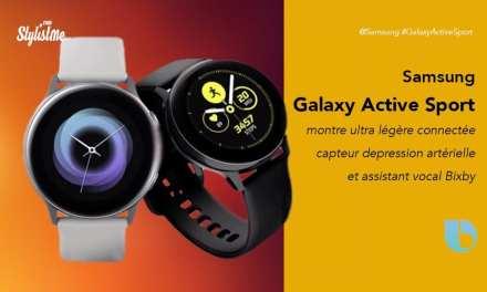 Samsung Galaxy Active Sport prix avis test montre connectée spéciale santé