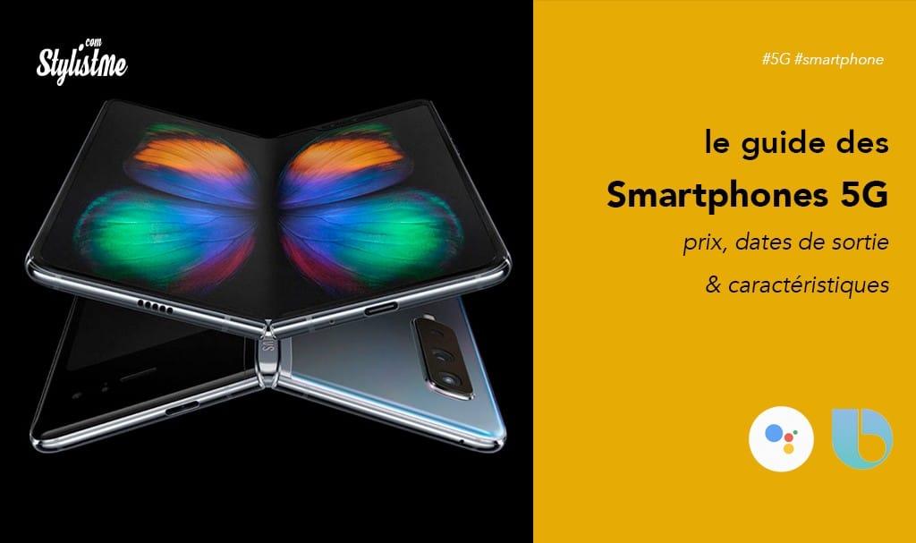 Smartphones compatibles 5G prix choix disponibilité en France