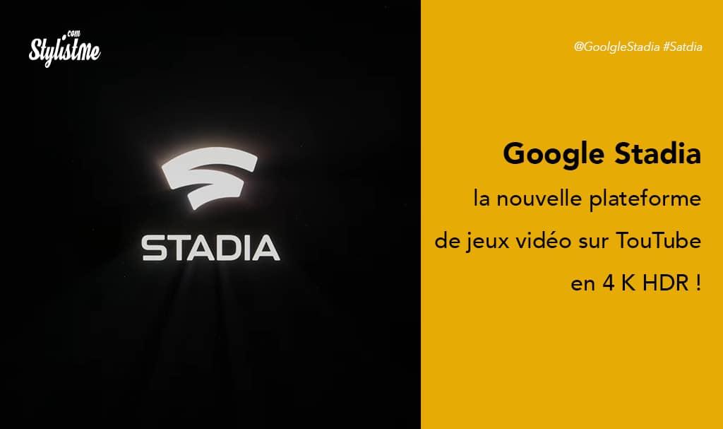 Stadia la plateforme de jeux en ligne multijoueurs de Google