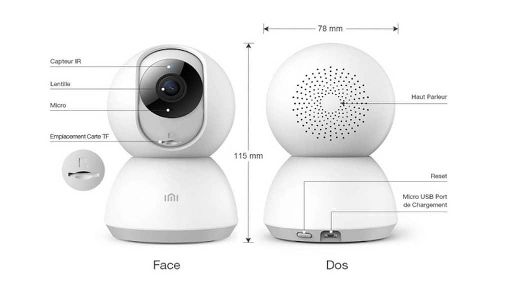 Xiaomi caméra dôme guide de démarrage