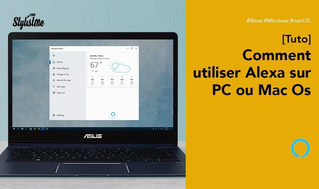 Comment utiliser Alexa sur Macbook (macOS) ou PC (Windows) [Tuto]
