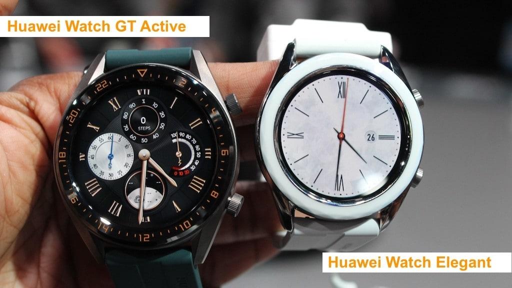 Huawei Watch GT Active Elegant avis prix test design