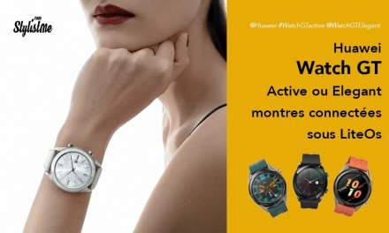 Huawei Watch GT Active Elegant Editions prix avis test sous Lite OS