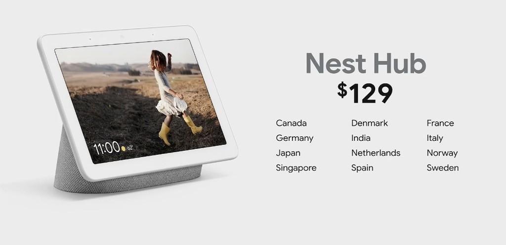 Nest Hub Prix Google Home Hub