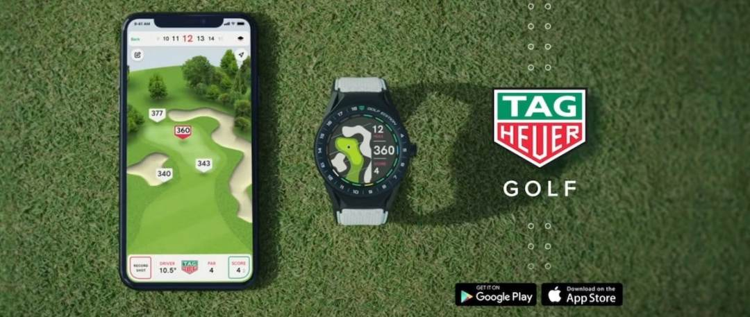 TAG Heuer Connected Modular 45 golf avis
