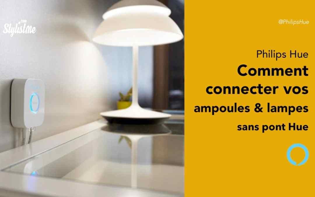 Comment utiliser Philips Hue sans pont officiel (lampes et ampoules)