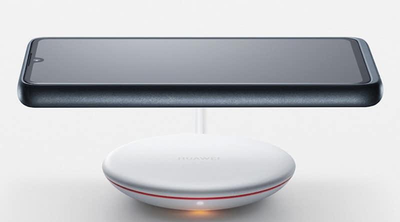 coque magnétique chargeur sans fil Huawei 30