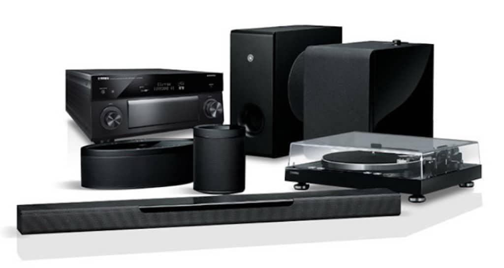 Gamme Yamaha compatible AirPlay 2