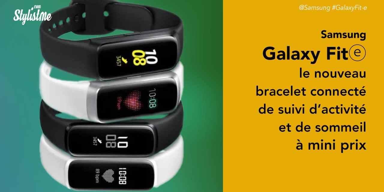 Samsung Galaxy Fit e prix avis du bracelet connecté suivi de santé