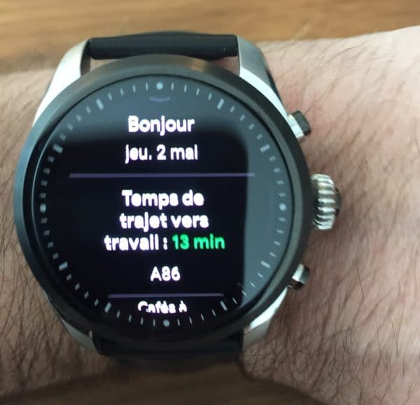 Wear Os tuiles disponibles