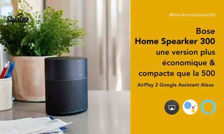 Bose Home Speaker 300 prix avis enceinte Alexa Google Assistant et AirPlay 2