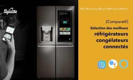 Comparatif réfrigérateur congélateur connecté au meilleur prix