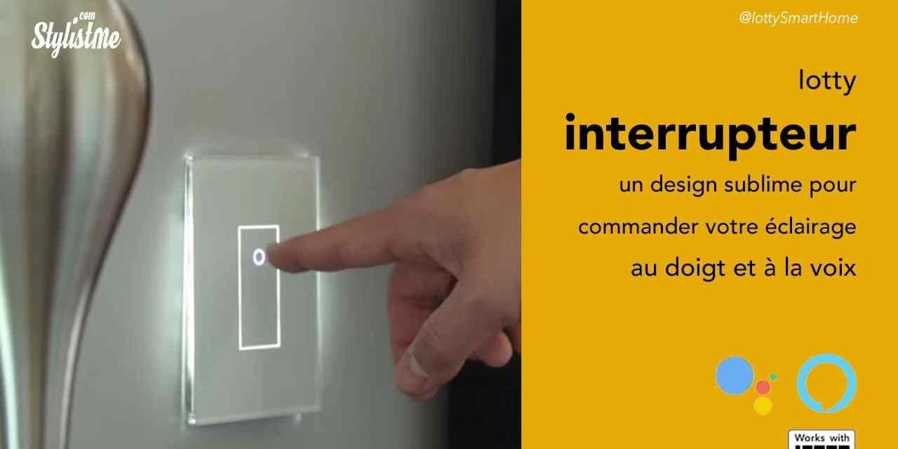 Iotty Interrupteur connecté programmable et vocale avec Alexa et Google Assistant