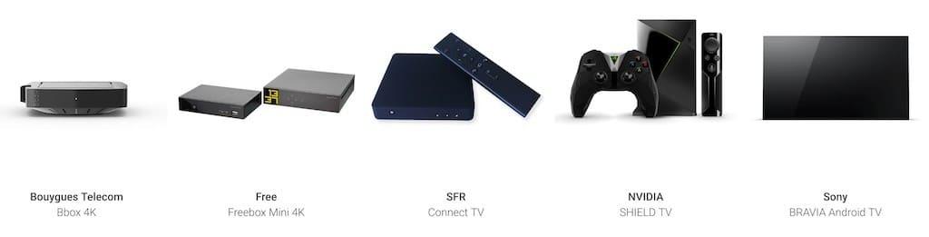 Le matériel nécessaire pour regarder vos caméras vidéos sur votre télé ou Nest Hub