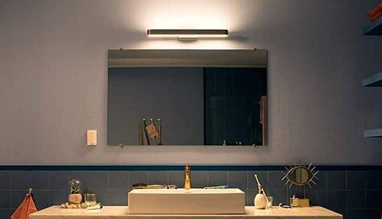 meilleur miroir connecté Phillips hue ambiance applique