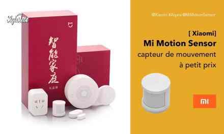 Mi Motion Sensor le capteur de mouvement Xiaomi aussi petit que son prix