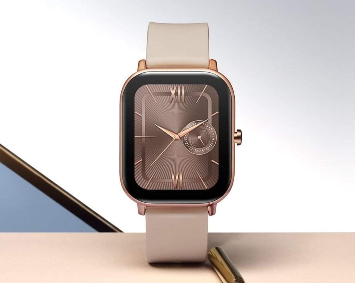Amazfit GTS design Apple Watch