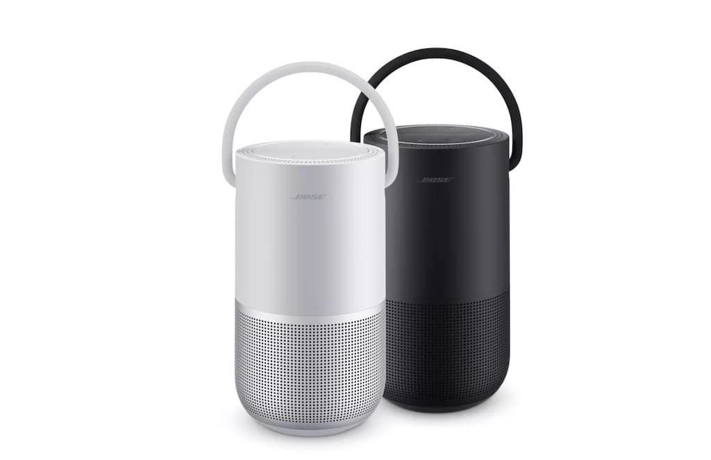 Bose Portable Home Speaker Alexa Google Assistant
