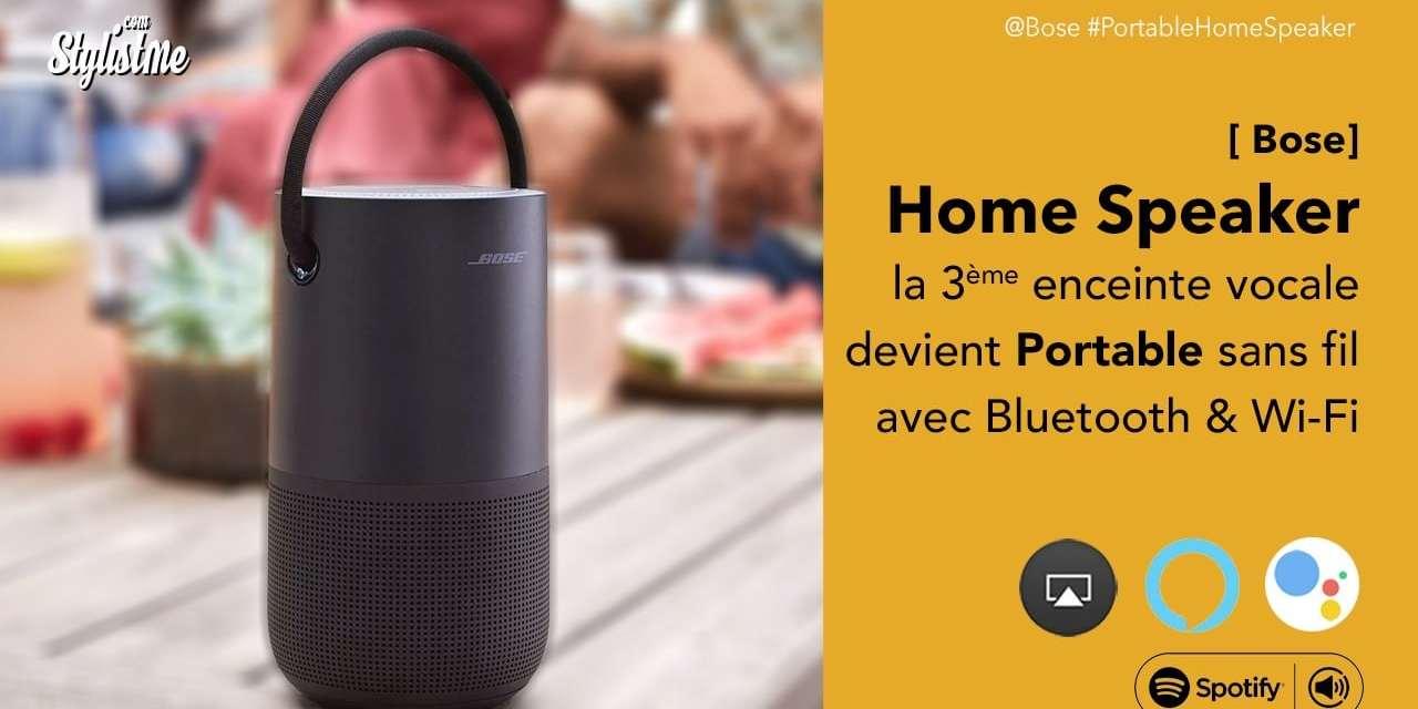 Bose Portable Home Speaker prix avis test enceinte vocale hyper connectée