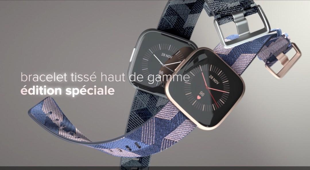 édition spécial Fitbit versa 2