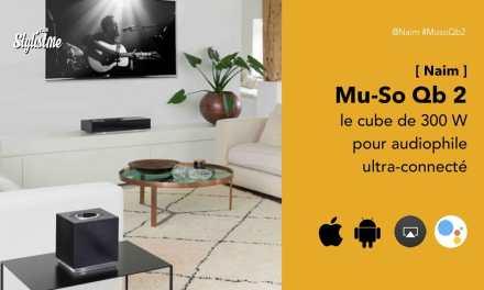 Mu-so Qb 2 de Naim enceinte 300 W ultra connectée pour audiophiles