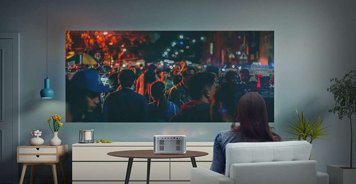 Screeneo S6 vidéoprojecteur courte focale
