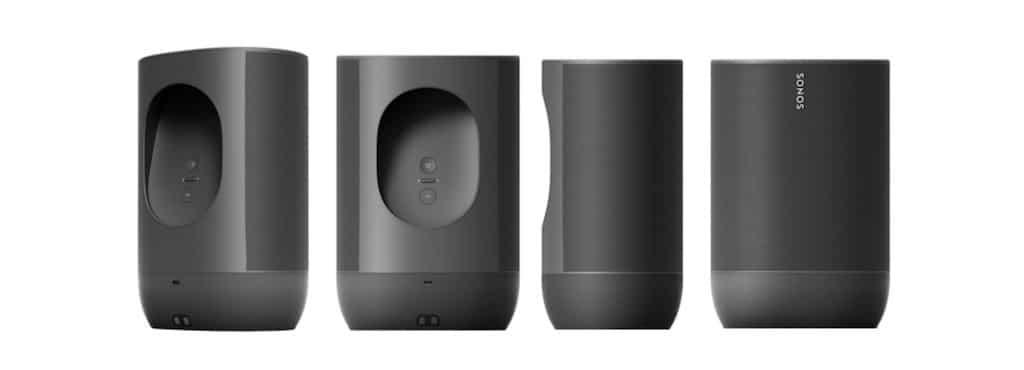 Sonos Move enceinte portable bluetooth Alexa google assistant