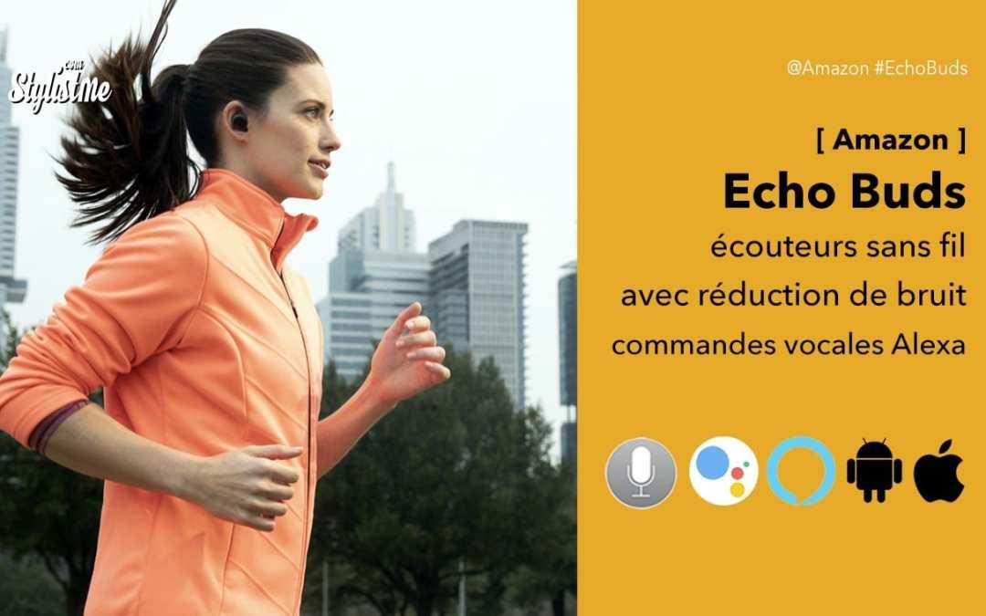 Echo Buds écouteurs sans fil Bose avec Alexa et annulation de bruit