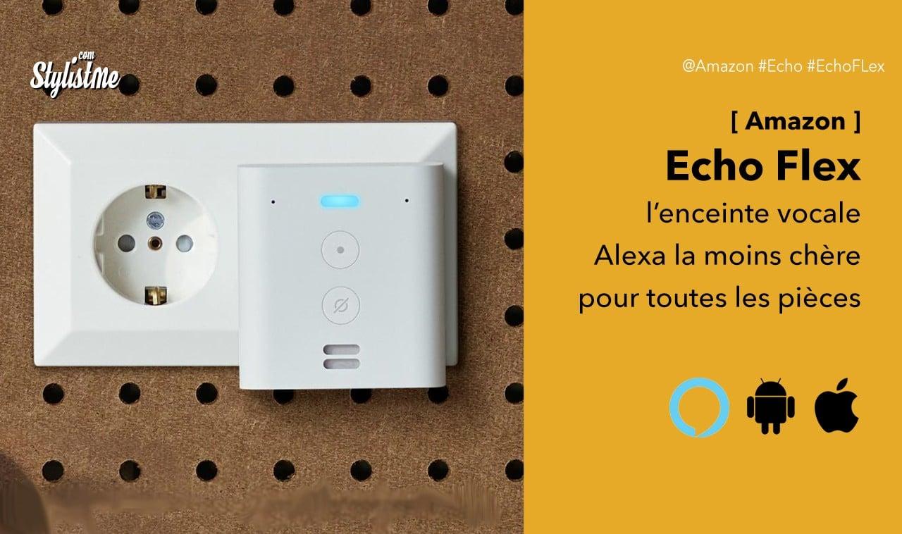 Echo Flex Lenceinte Amazon Alexa La Moins Chère Pour Toutes