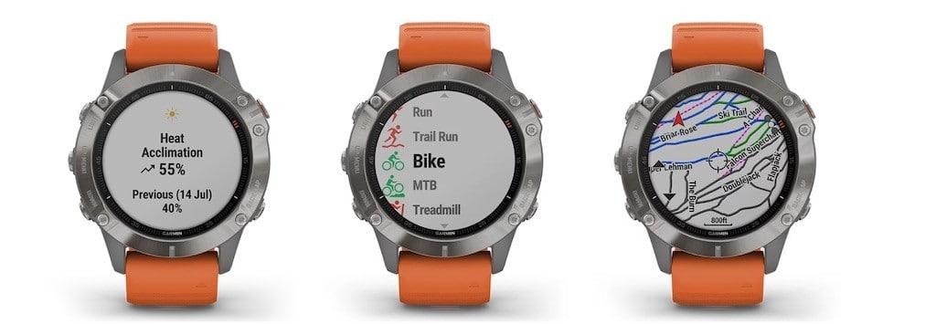 Garmin Fenix 6 montre connectée sport