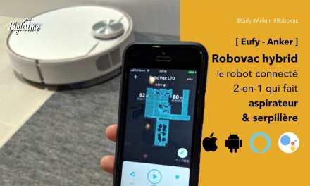 Robovac L70 Hybrid aspirateur et serpillère avec cartographie d'Eufy