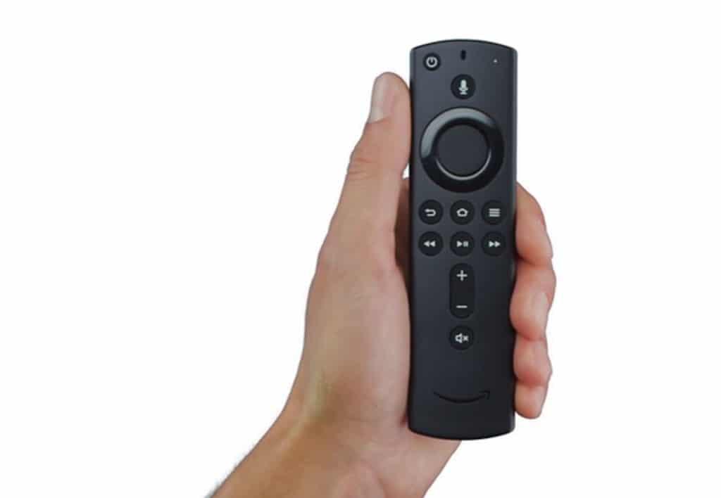 télécommande fire tv 4K avec Alexa