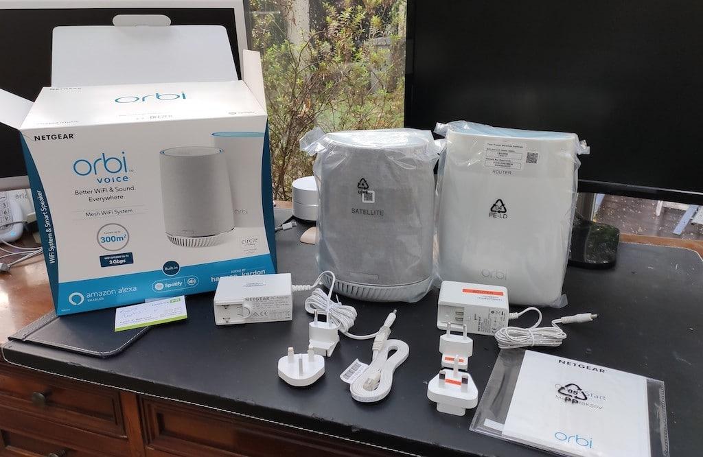 comparatif Orbi Voice wifi mesh Alexa