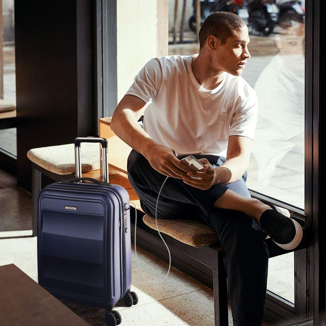 valise cabine connectée Reyleo