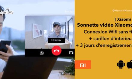 Xiaomi sonnette vidéo sans fil Mijia Mi Home vraiment pas cher