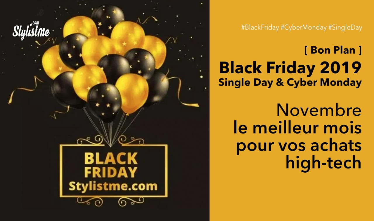 Black Friday 2019 Cyber Monday Single Day