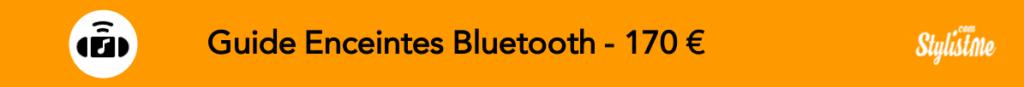 Comparatif meilleur enceinte bluetooth