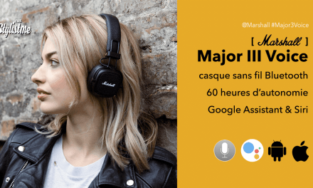 Marshall Major 3 Voice le casque vintage avec Google Assistant et Siri