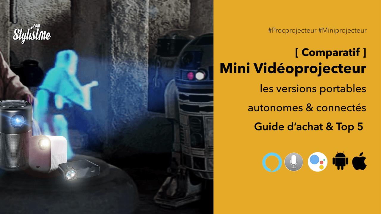 Meilleur mini vidéoprojecteur-comparatif guide achat pico projecteur