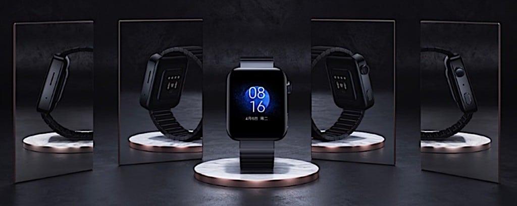série limité numéroté Xiaomi Mi Watch acier saphir
