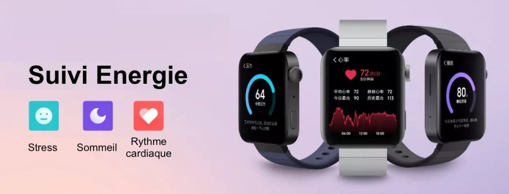 Suivi santé Xiaomi Mi Watch énergie