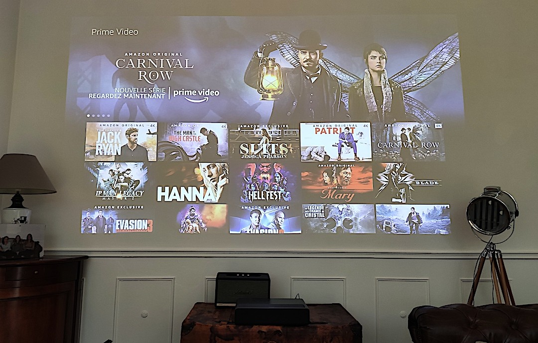 Wemax One streaming vidéo Netflix Amazon Vidéo chaine télé