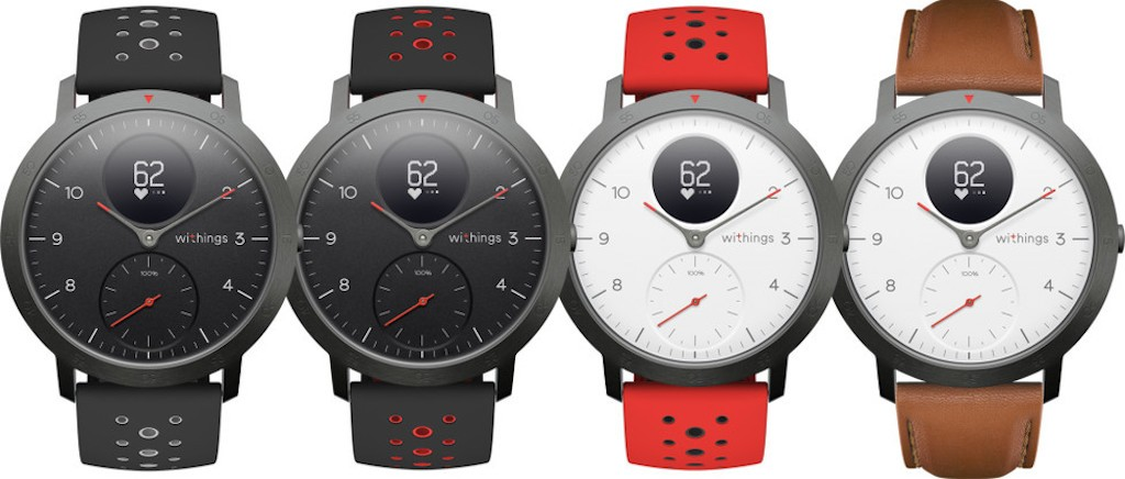 Withings Steel HR sport comparatif montre connectee