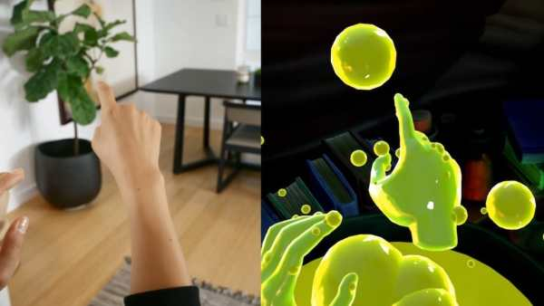 jeux oculus quest hand tracking