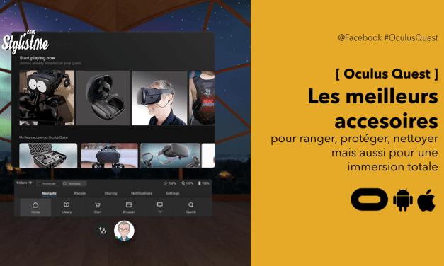Meilleurs accessoires Oculus Quest profiter du casque VR n°1