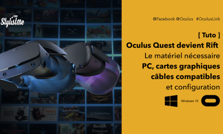 Oculus Link spécifications PC, cartes, câbles compatibles et configuration