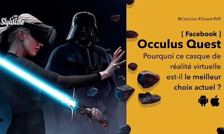 Oculus Quest test avis prix le meilleur casque VR 2020 grand public