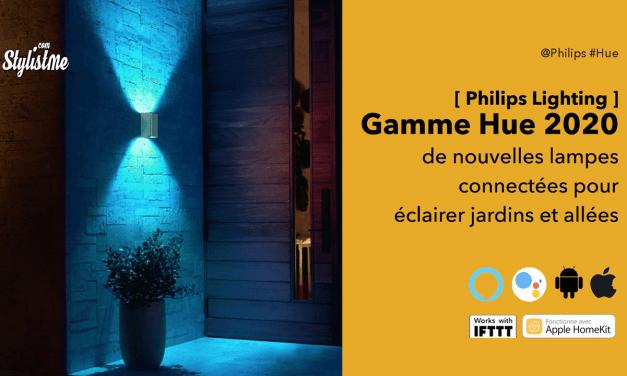 Philips Hue 2020 toutes les nouvelles lampes connectées en couleur